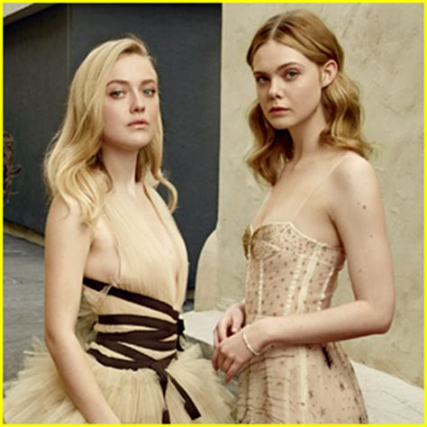 Dakota & Elle Fanning Are First Sisters Ever Featured on ...