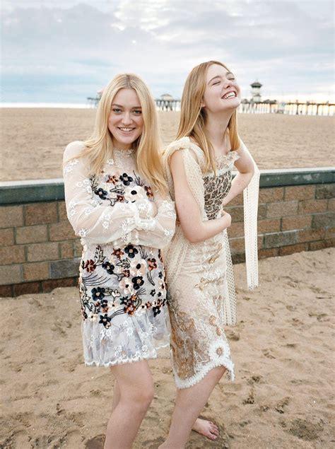 Dakota & Elle Fanning | Fanning sisters ♡ | Pinterest ...