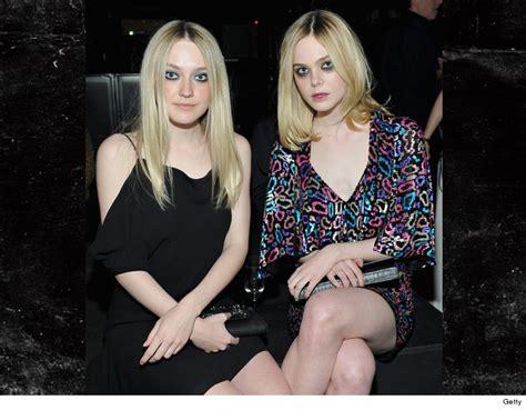 Dakota & Elle Fanning: Serious Redrum Vibes | TMZ.com