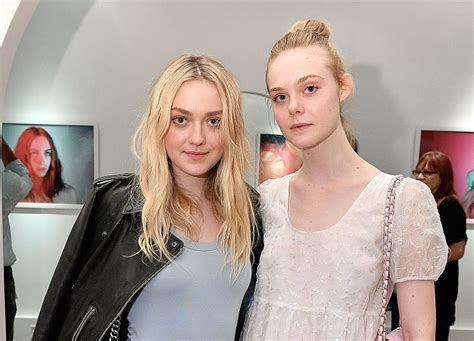 Dakota Fanning just posted a vintage picture of her and ...