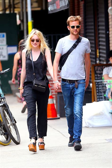 Dakota Fanning Out With Her Boyfriend In NYC   Celebzz