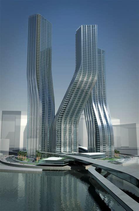 Dancing Towers, la arquitectura danzante de Zaha Hadid en ...