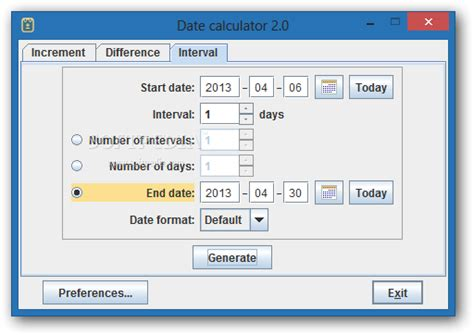 Date Calculator Download