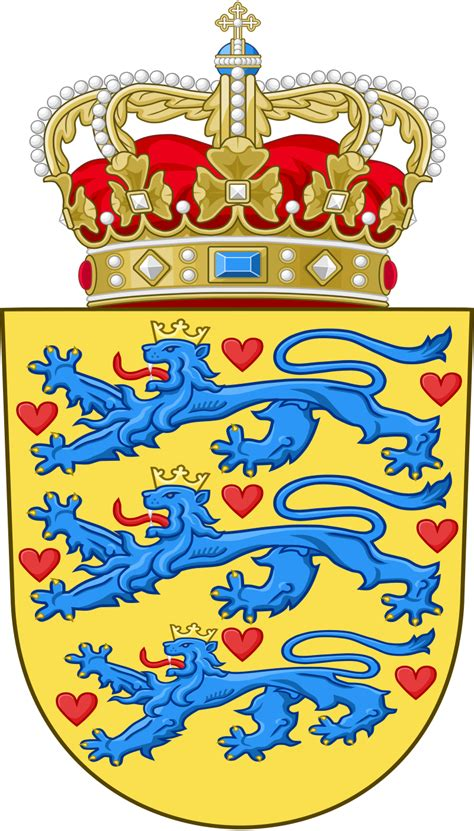 Datei:National Coat of arms of Denmark.svg – Wikipedia