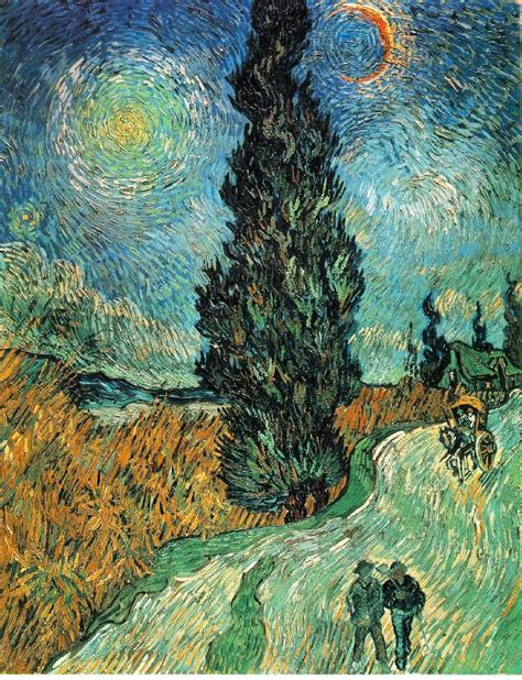 Datei:Vincent van Gogh   Road with Cypress and Star.JPG ...