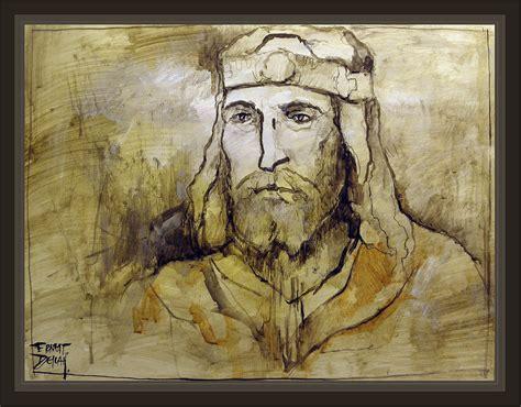 DAVID REY KING ISRAEL BIBLIA BIBLE PERSONAJES BIBLICOS ART ...