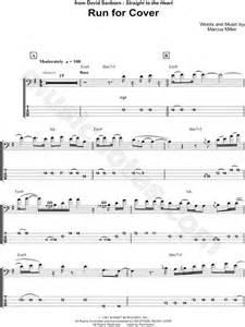 David Sanborn  Run for Cover  Bass Tab in E Minor ...