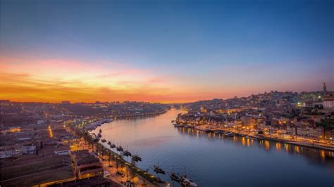 Dawn Portugal City Wallpapers   1366x768   254730