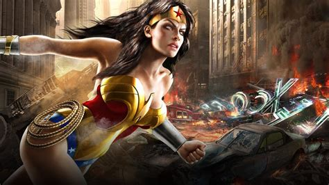 DC Comics, Wonder Woman, Video Games, Superheroines ...