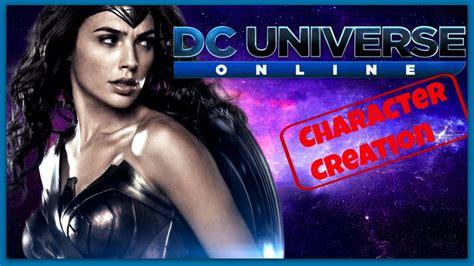 Dc Universe Online   Character Creation   Wonder Woman ...