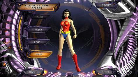 DC Universe Online Wonder woman character creation HD ...