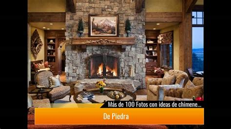+ DE 100 Fotos con ideas de chimeneas rústicas   YouTube