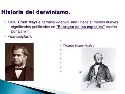 De las teorias fijistas a las evolucionistas