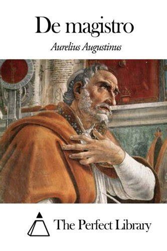 De Magistro by Augustinus   AbeBooks