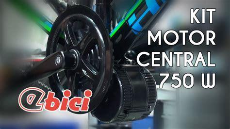 De MTB a eléctrica con el kit de motor central 750 W de ...