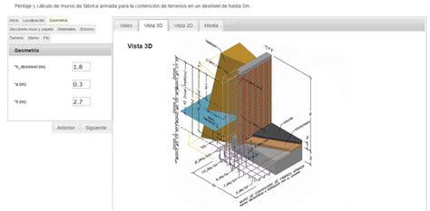 De muro de cerramiento a muro de contención: cálculo de ...