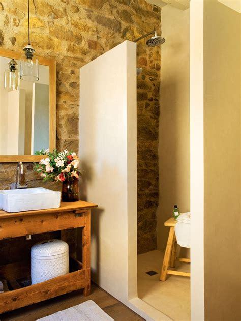 De obra. | Baños rústicos, Decoracion baños, Baños pequeños