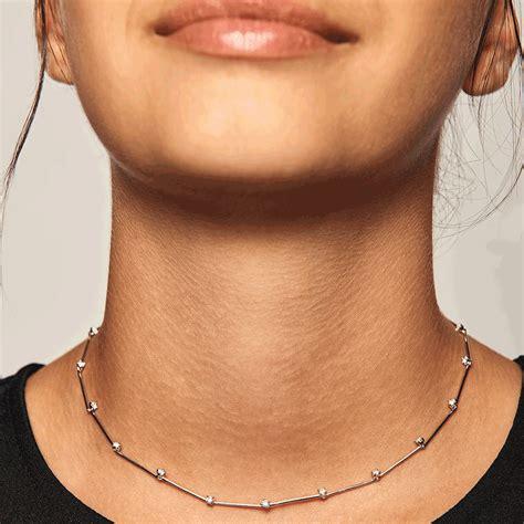 De Paola joyas, collar bloom silver. Joyería SergeLL