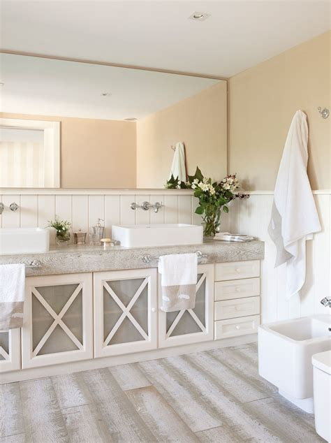 De pared a pared | BAÑOS | Muebles cuarto de baño, Espejos ...