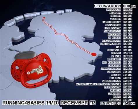 De Running4Babies loop route | Harm Dijkman