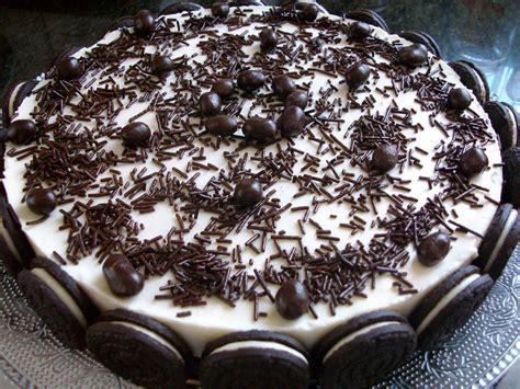 de sucre i sal: tarta de chocolate blanco y galletas oreo