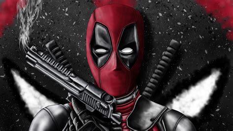 Deadpool con armas Fondo de pantalla 4k Ultra HD ID:3875