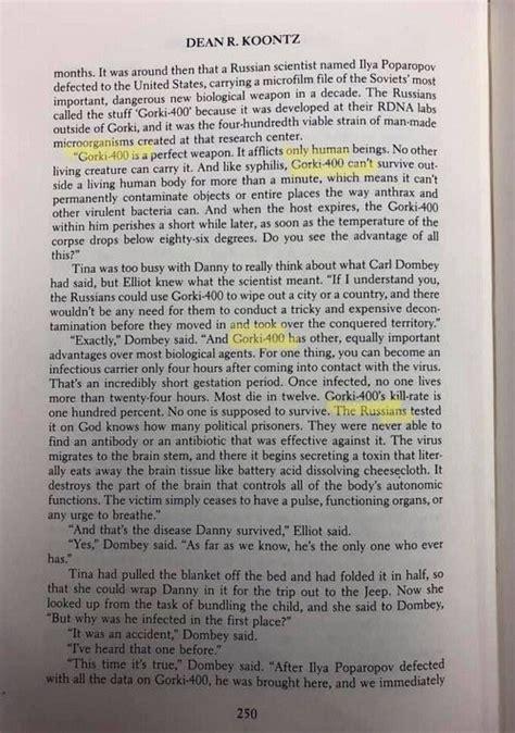 Dean Koontz Book Predicted Coronavirus Epidemic in 1981 ...