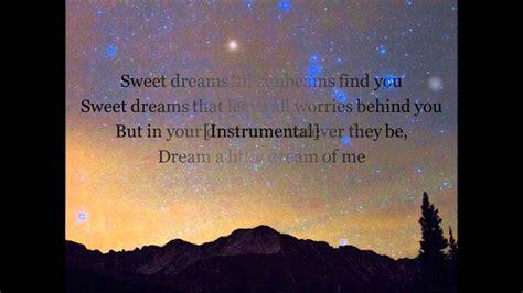 Dean Martin Dream a Little Dream of Me  with Lyrics    YouTube