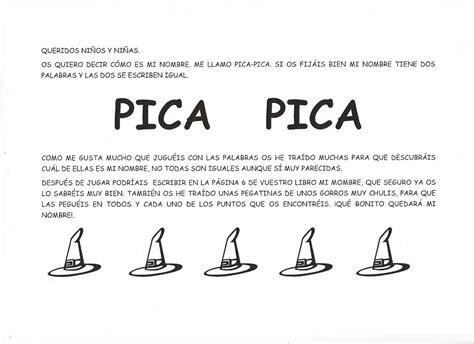 DEBAJO DEL ARCO IRIS: PICA PICA