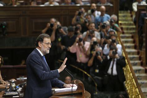 Debate investidura   Rajoy advierte de que España necesita ...