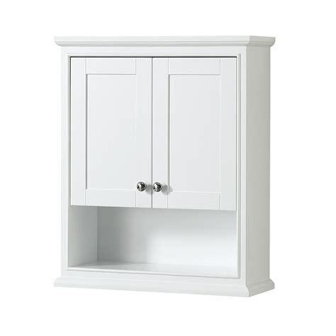 Deborah Over Toilet Wall Cabinet by Wyndham Collection ...