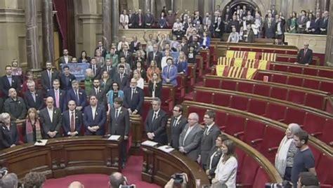 Declaración de independencia Cataluña: Un Parlament ...