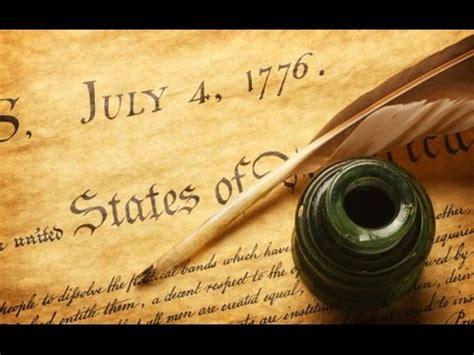 Declaración de Independencia de EE.UU.   YouTube