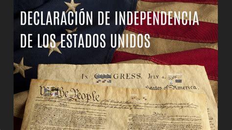 DECLARACIÓN DE INDEPENDENCIA DE LOS ESTADOS UNIDOS by ...