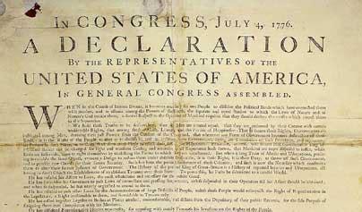 Declaración de independencia de los Estados Unidos de ...