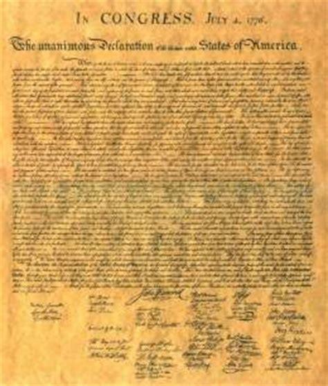Declaración de Independencia de los Estados Unidos   EcuRed