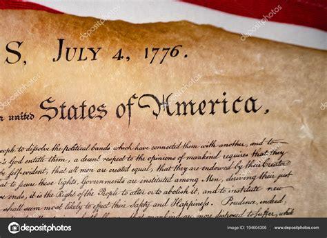 Declaración de la independencia 04 de julio de 1776 en la ...