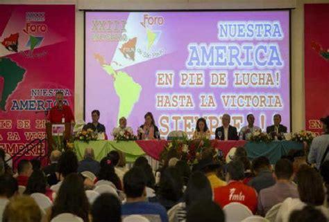 Declaración Final del XXIII Foro de Sao Paulo: Nuestra ...