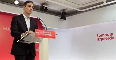 Declaración Rajoy: Sánchez pide a Rajoy que esta misma ...