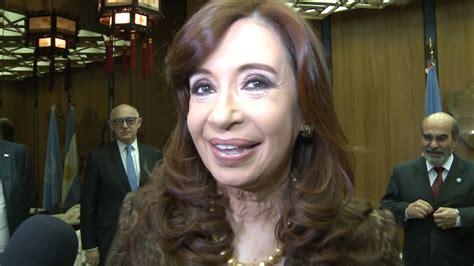 Declaraciones de Cristina Fernández de Kirchner ...