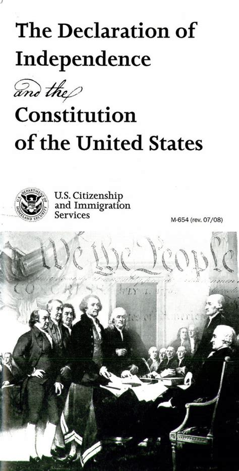 Declaration of Independence and Constitution of the United ...