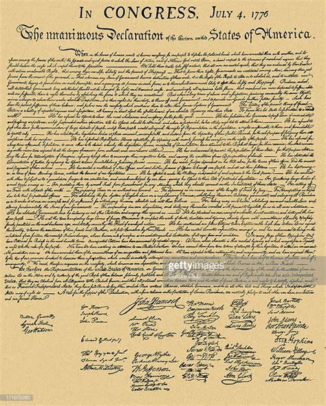 Declaration of Independence   document formally entitled ...