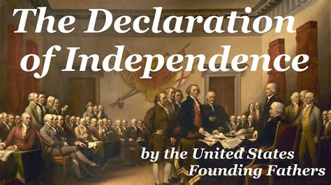 Declaration of Independence   FULL Audio Book   by ...