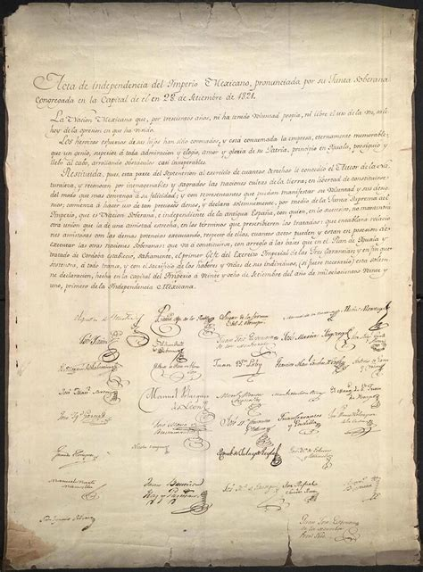 Declaration of Independence of the Mexican Empire   Wikipedia