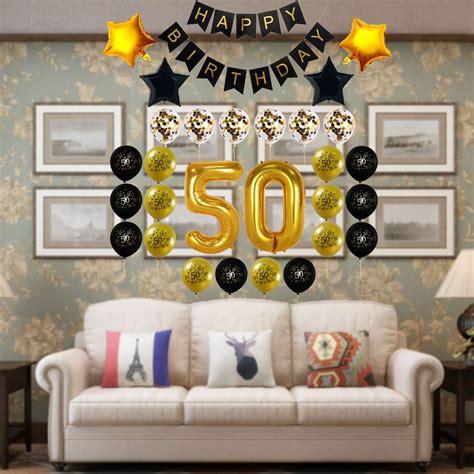 Decocheer 50 Cumpleaños Decoraciones Regalo Para Hombres ...