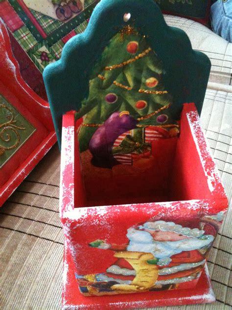 DECOCRAFTY YOL. : Navidad 2012!!!! decoupage en madera con ...