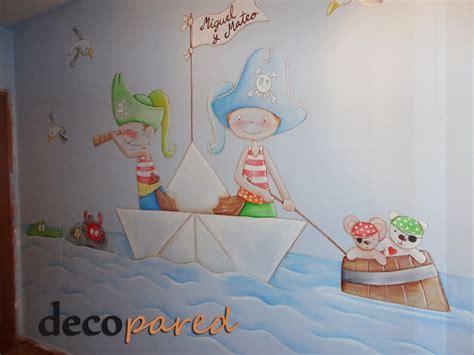 decopared: mural infantil de piratas