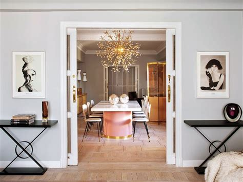 Decor Inspiration An elegant and chic apartment in Madrid ...