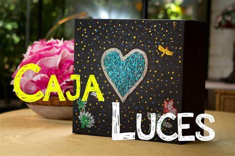 Decoracion Caja de Luz de Corazon con Secreto   YouTube