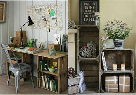 Decoración con cajas de madera ¡Ideas para ambientar ...